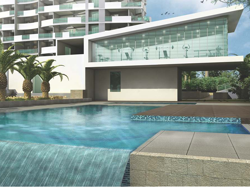 Ganga-Serio-Homes-in-Kharadi-Pool
